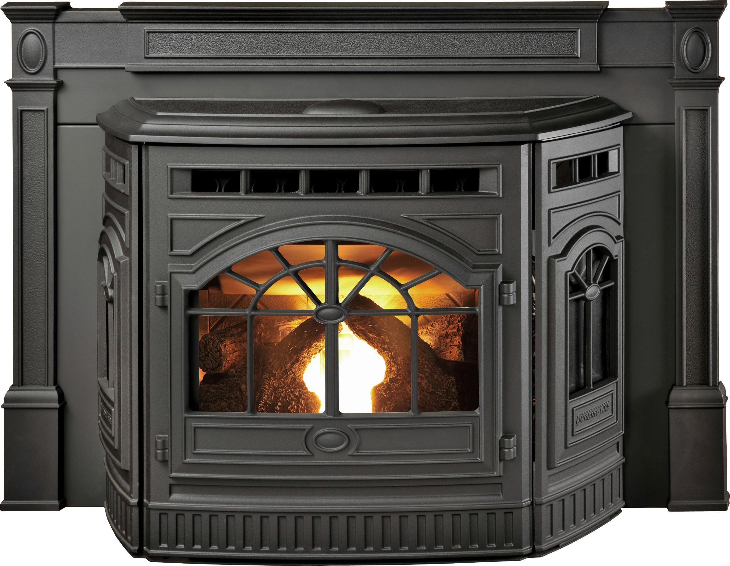 Quadra Fire Castile Pellet Insert H2oasis