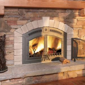 Napoleon U2013 High Country 6000 Wood Fireplace