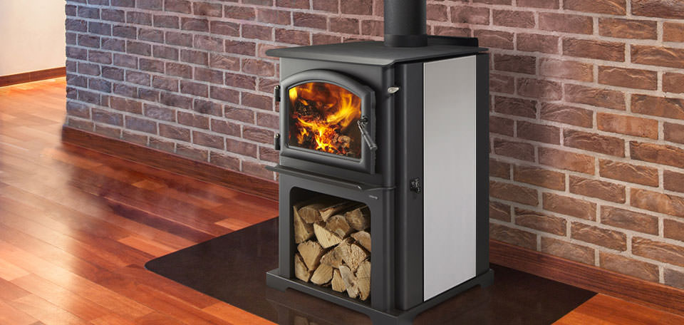 Quadra Fire Discovery I Wood Stove H2oasis