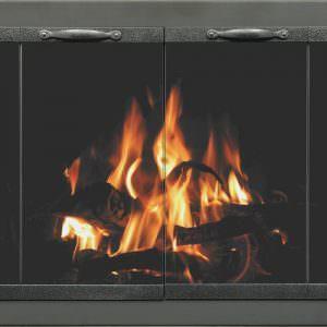 Zero Clearance Fireplace Doors