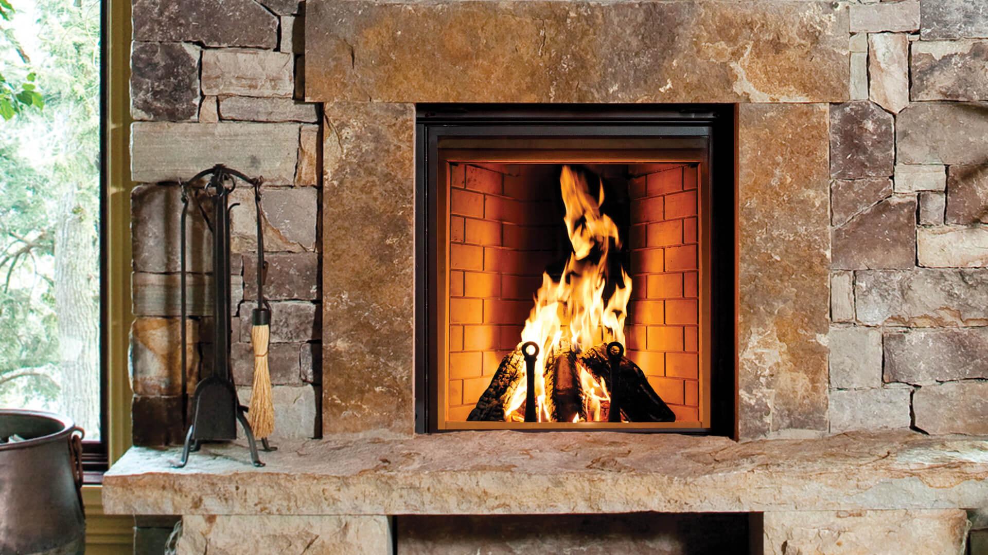 Renaissance Fireplaces - Rumford 1000 Wood Burning ...
