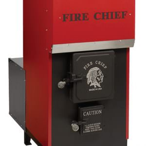 FC1700 Wood indoor forced air furnace
