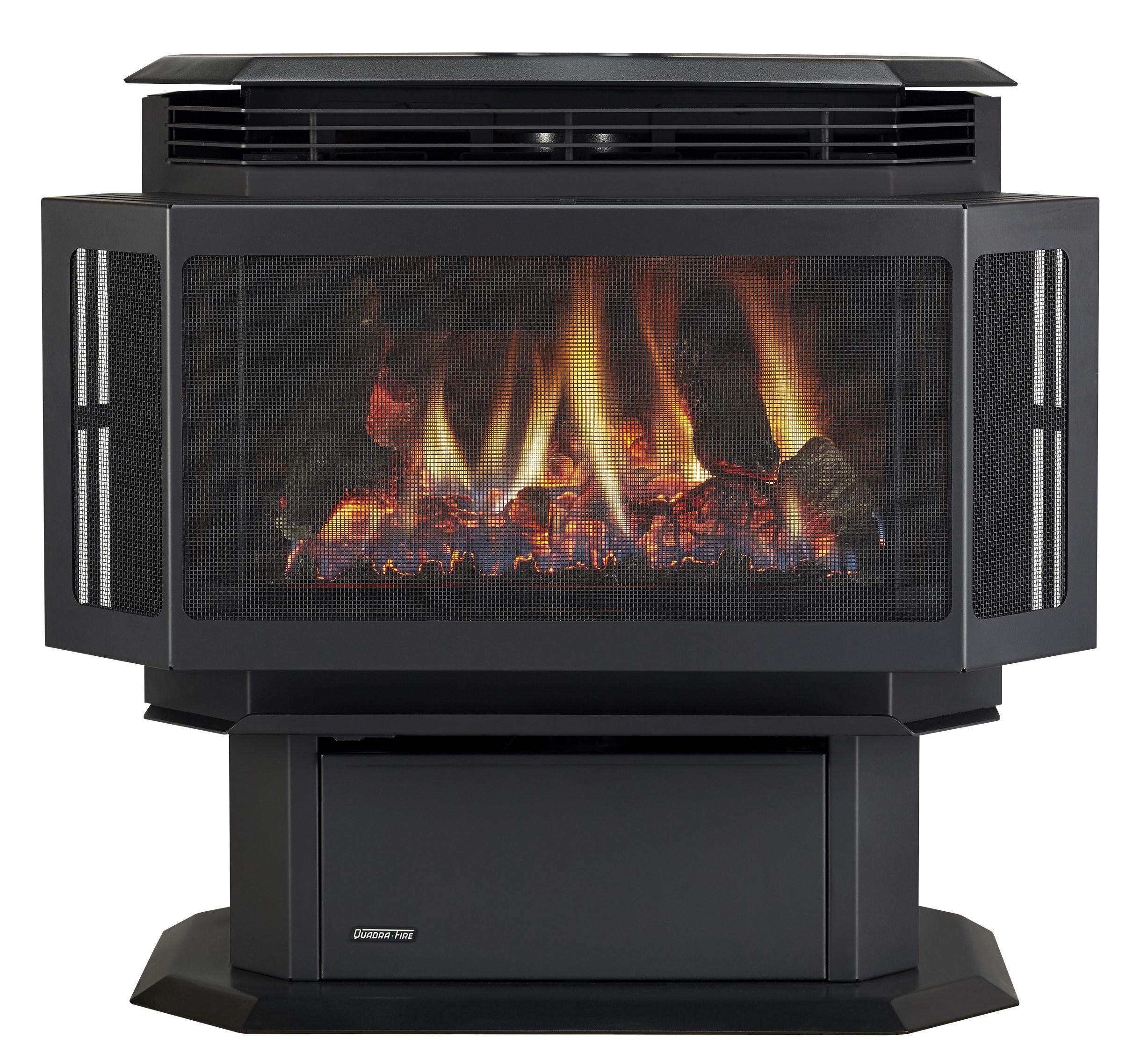 quadra-fire - hudson gas stove
