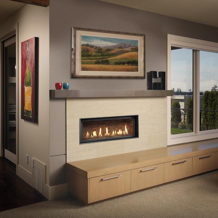 3615 HO gas fireplace