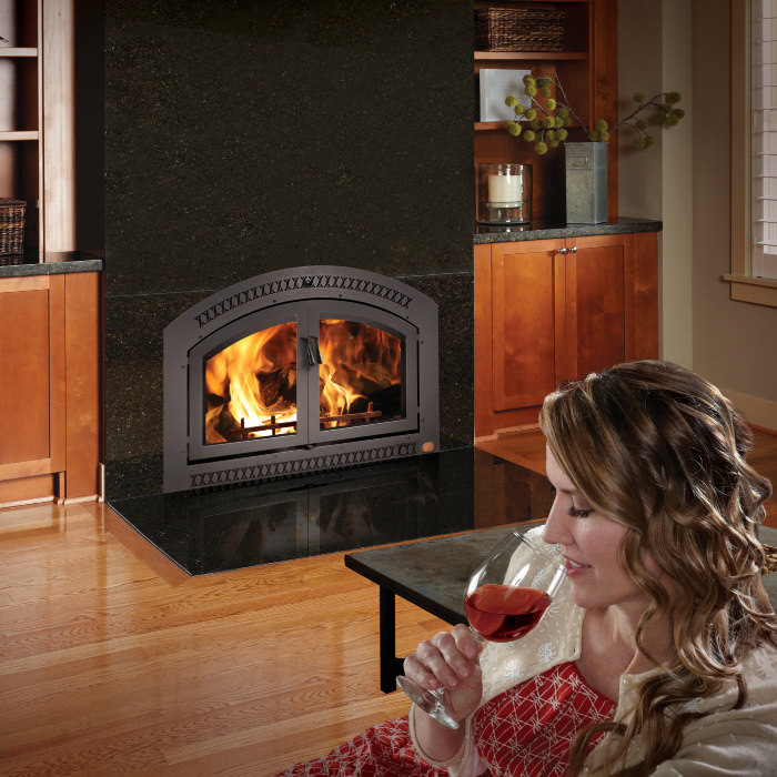 Elite 44 wood fireplace