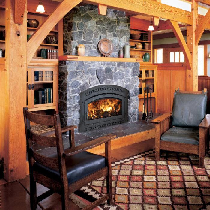 36 Elite Wood Fireplace 2