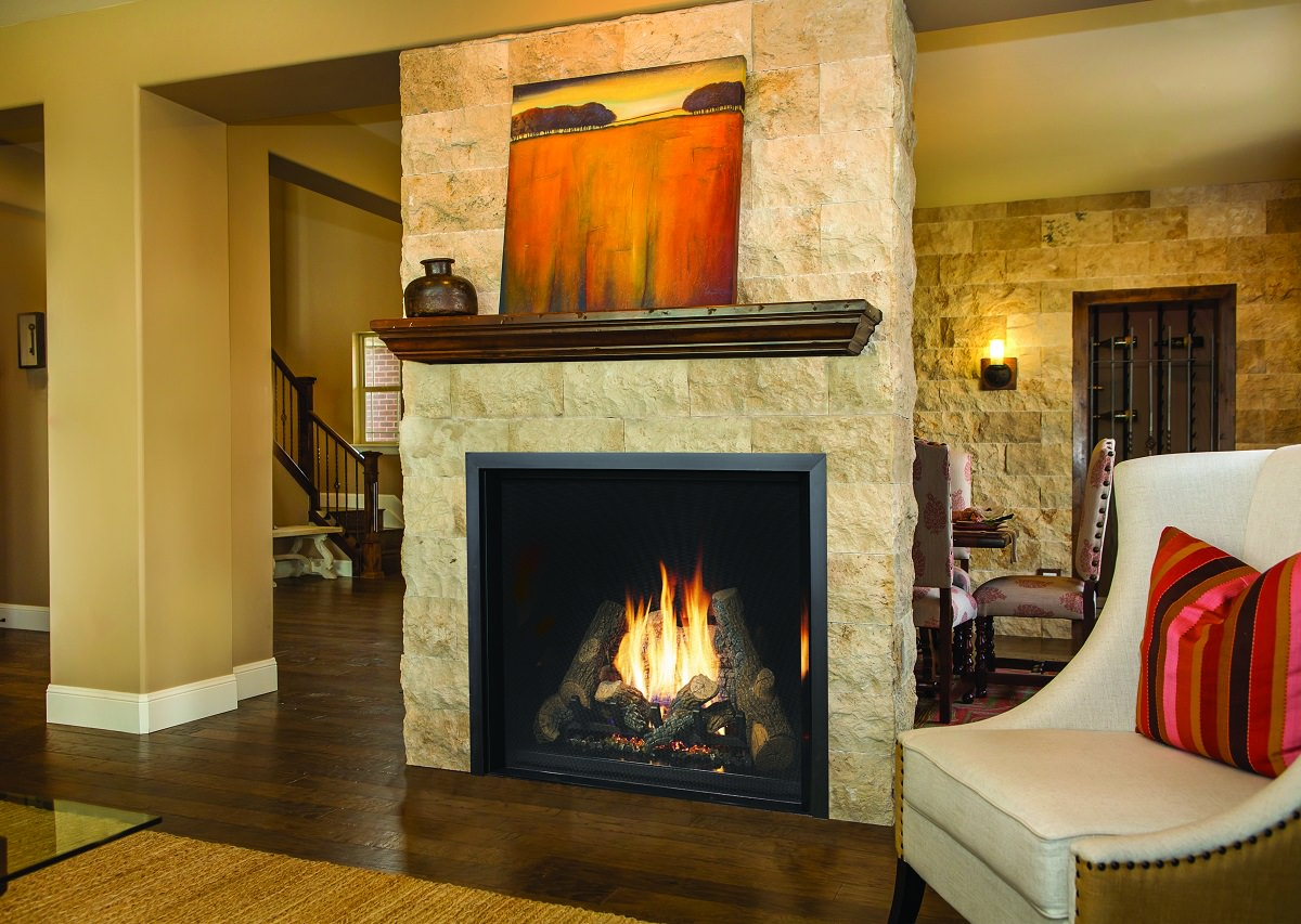 Fireplace Xtrordinair 4237 Clean Face Gas Fireplace