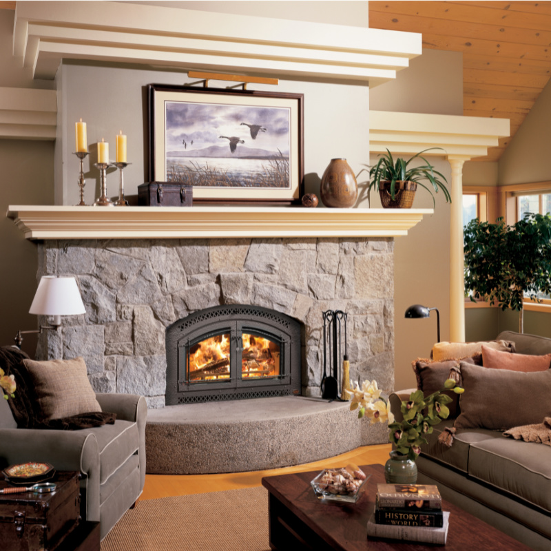 Fireplace Xtrordinair 44 Elite Wood Fireplace 1 1