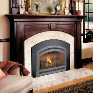 FPX 34 DVL Gas Fireplace Insert