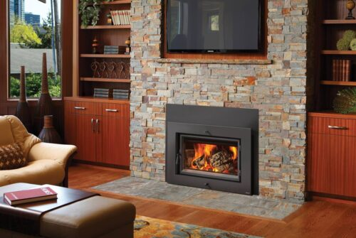 Large Flush Wood Hybrid-Fyre™ Wood Insert