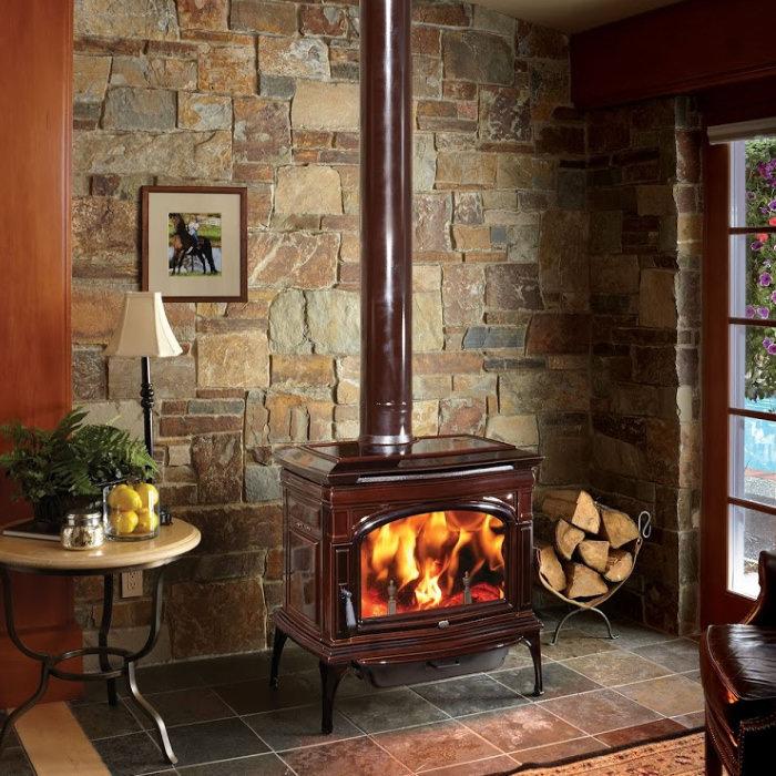 Cape Cod wood stove