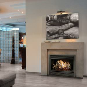564 25K gas fireplace