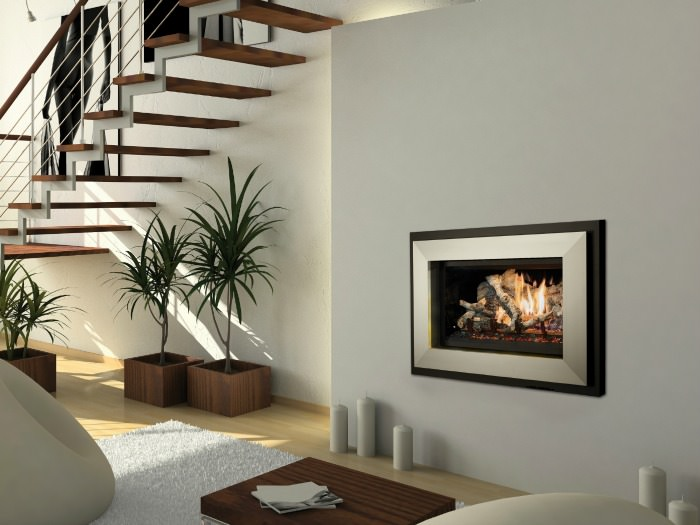 564 25K gas fireplace