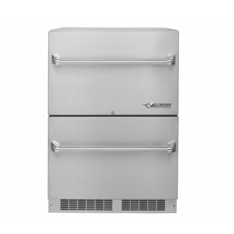 24 TWO DRAWER OUTDOOR REFRIGERATOR 1