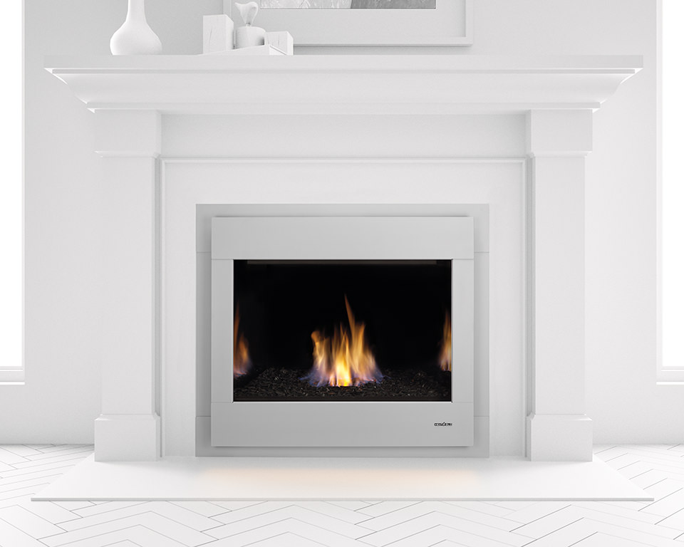 Heat Glo 6000 Modern Gas Fireplace H2oasis
