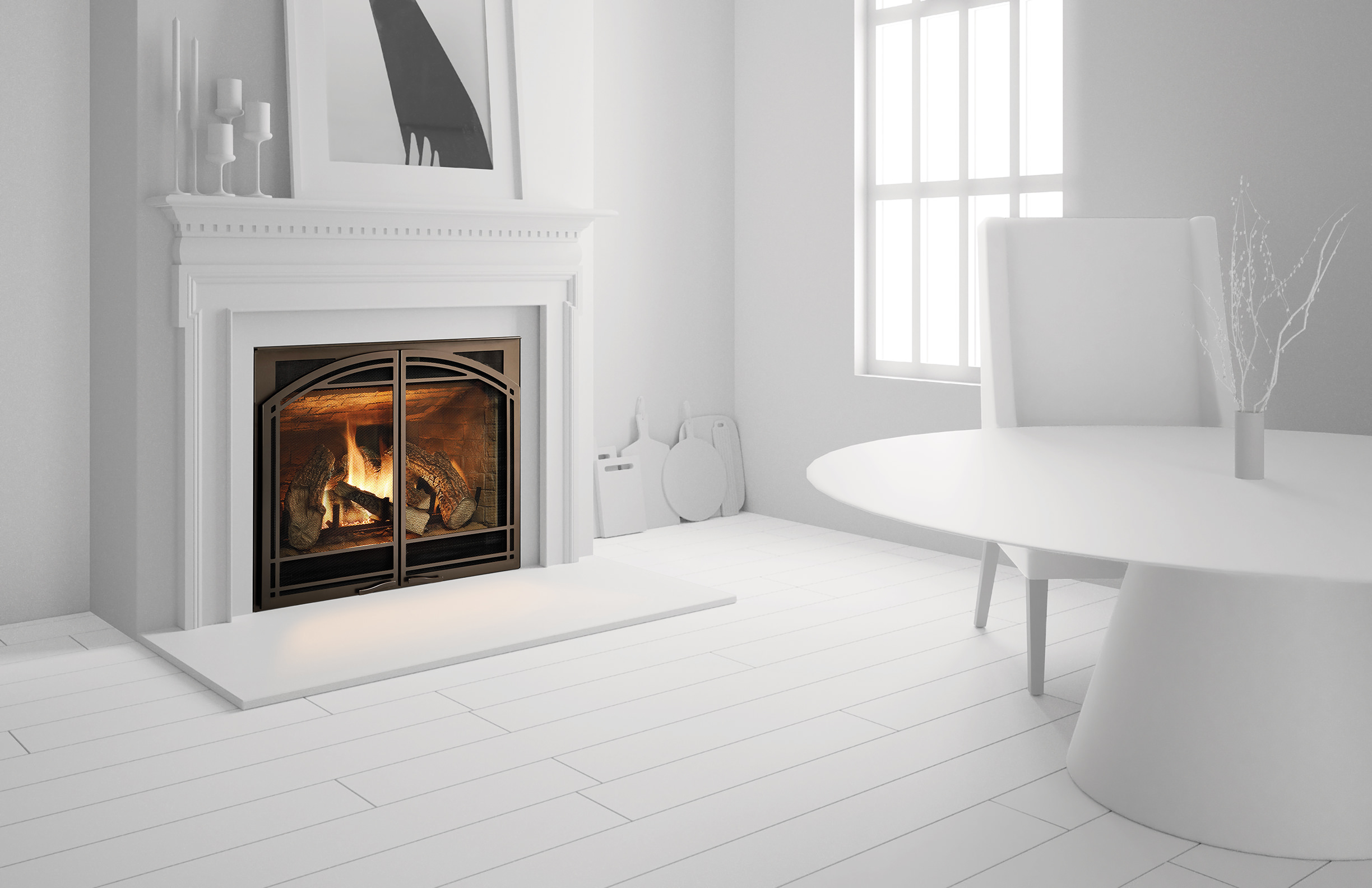 heat u0026 glo 6000 series gas fireplace h2oasis