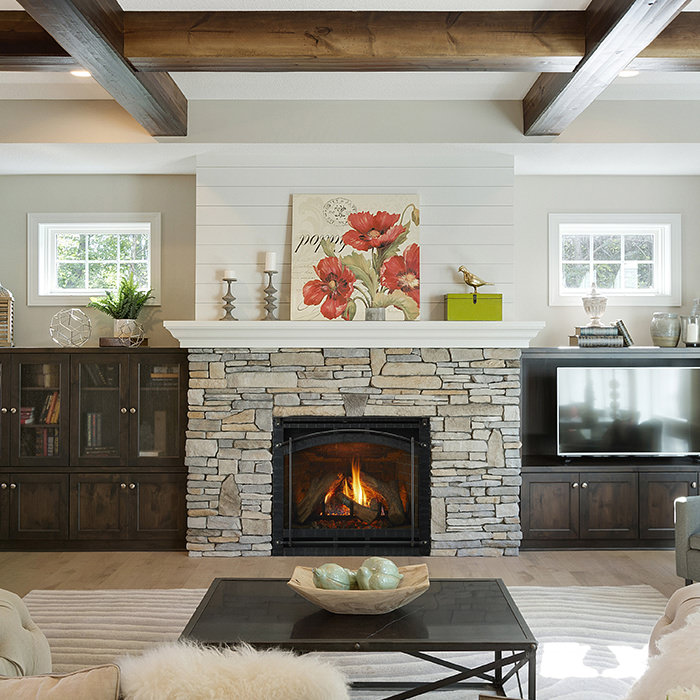 6000 gas fireplace