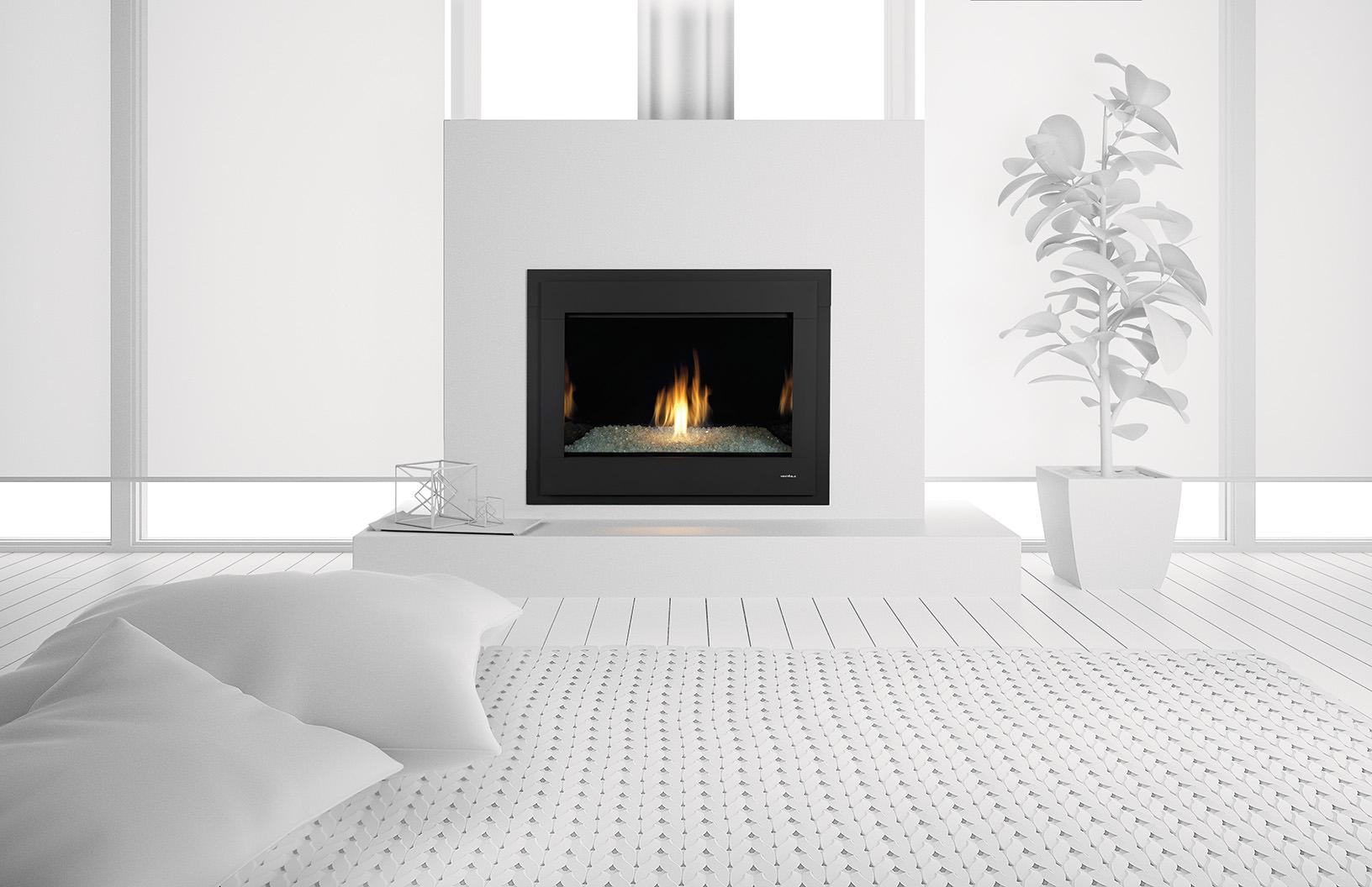 Heat Amp Glo 8000 Modern Gas Fireplace H2oasis