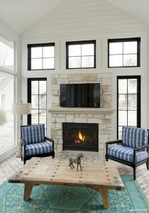 8000 Series Gas Fireplace