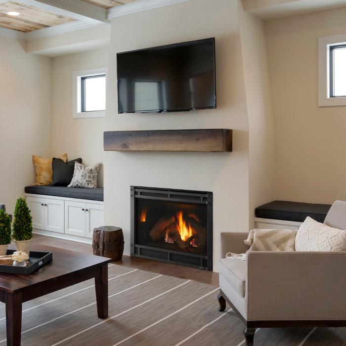 8000 gas fireplace