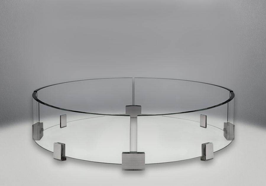 Napoleon Kensington Round Patioflame Table Kens3 Bz H2oasis