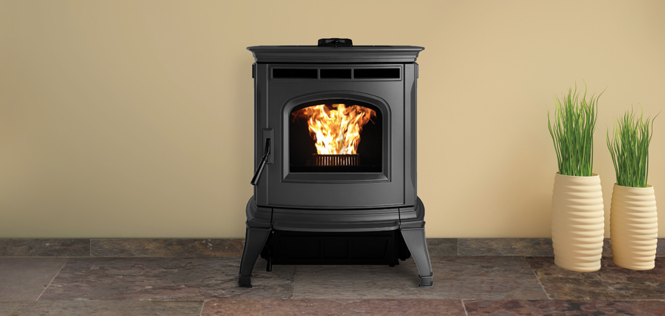 Harman Absolute43 Black Pellet Stove