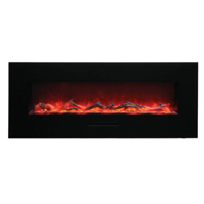 Amantii WM FM 48 5823 BG Wall Mount Flush Mount Electric Fireplace 1