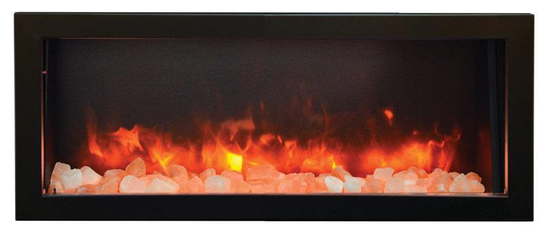 Amantii Panorama Series Bi 40 Deep Electric Fireplace