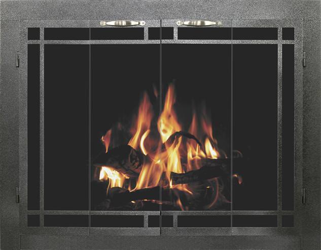 Masonary Fireplace Doors
