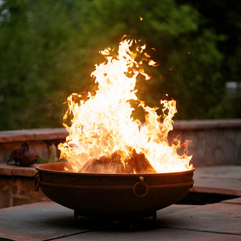 Emperor Fire Pit Art 1