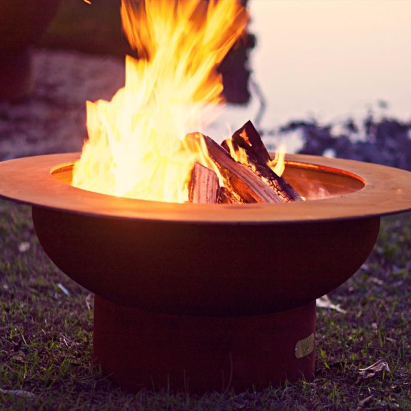 Fire Pit Art Saturn Fire Pit 2