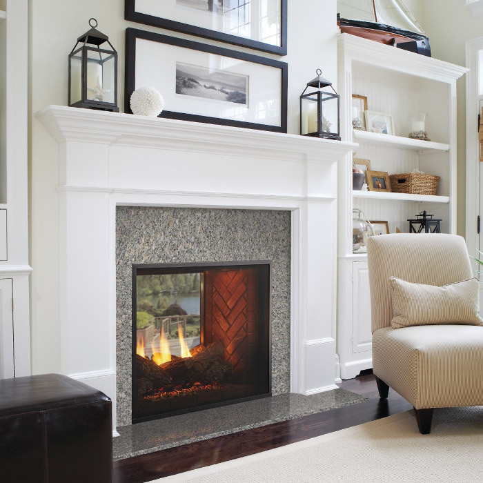 Fortress Indoor/Outdoor Gas Fireplace