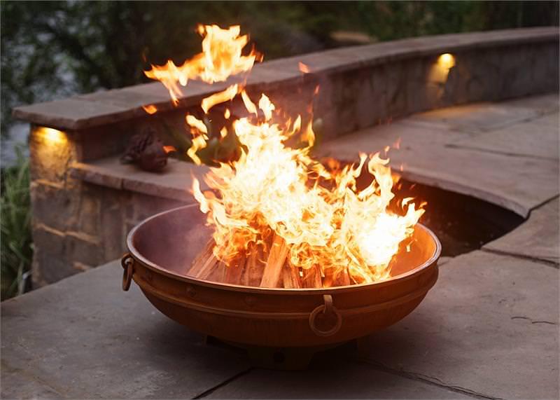 Fire Pit Art Emperor H2oasis