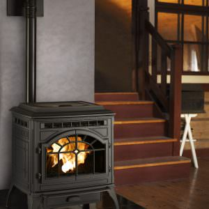 Mt. Vernon E2 Pellet Stove in Black