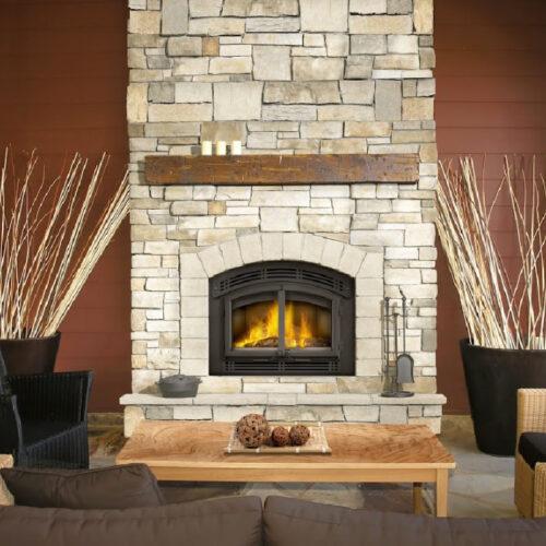 NZ3000H roomset modern cast door napoleon fireplaces 2 1