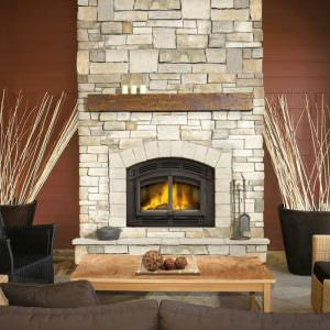 High Country 3000 Eco wood fireplace