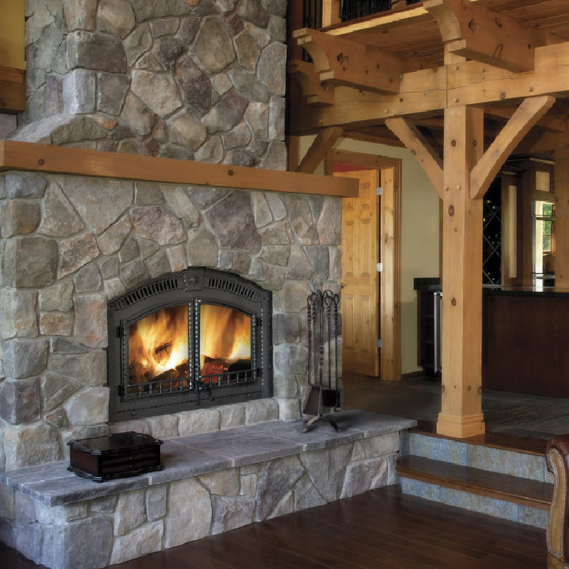 Napoleon High Country 6000 Wood Fireplace 2