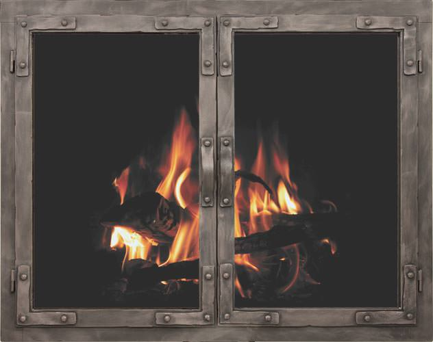 Stoll Craftsman Collection Old World Fireplace Doors H2oasis