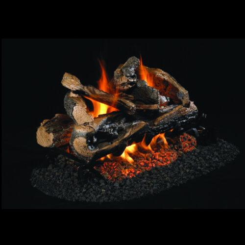 Petersen Real Fyre Rugged Split Oak See Thru Log Set 1