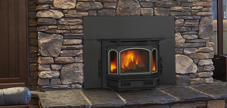 Quadra Fire 4100i Wood Insert H2oasis