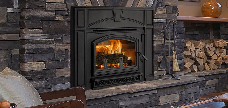 Quadra Fire Voyager Grand Wood Insert H2oasis