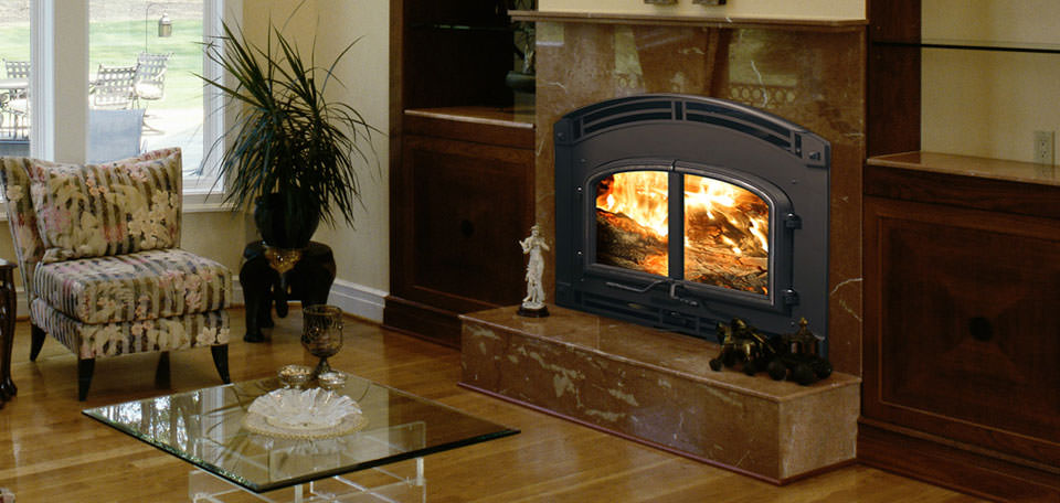 Quadra Fire 7100 Wood Fireplace H2oasis