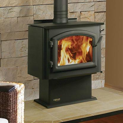 Quadra Fire 4300 Millennium Wood Stove H2oasis