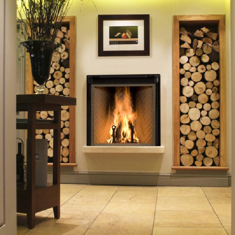 Renaissance Fireplaces – Rumford 1000 Wood Burning Fireplace 1