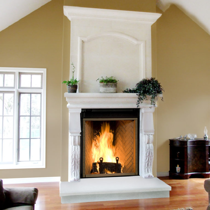 Renaissance Fireplaces – Rumford 1000 Wood Burning Fireplace 2