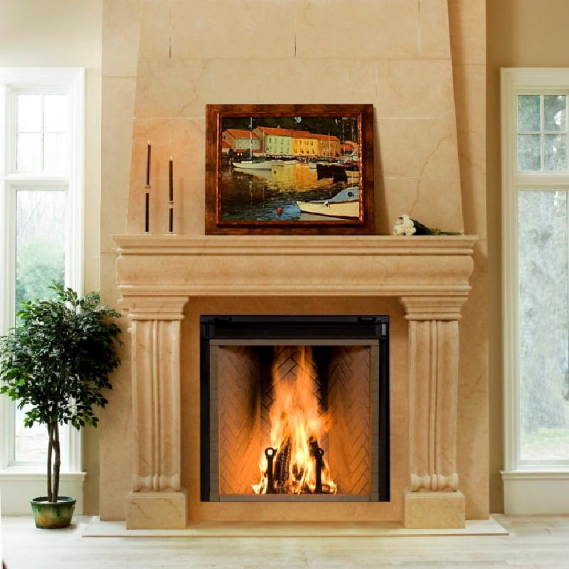 Renaissance Fireplaces – Rumford 1500 Wood Burning Fireplace 1