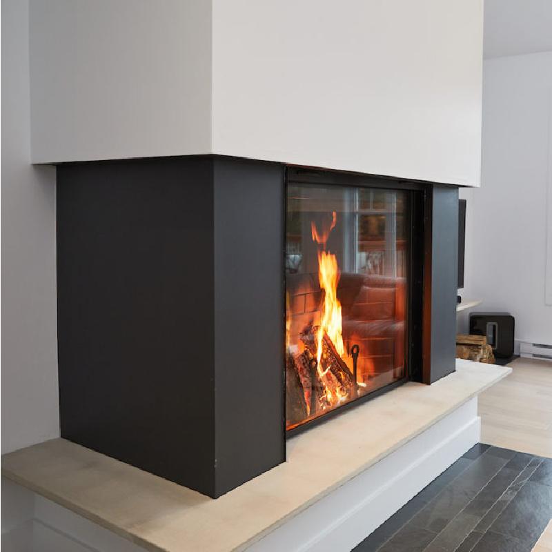 Renaissance Fireplaces – Rumford 1500 Wood Burning Fireplace 3