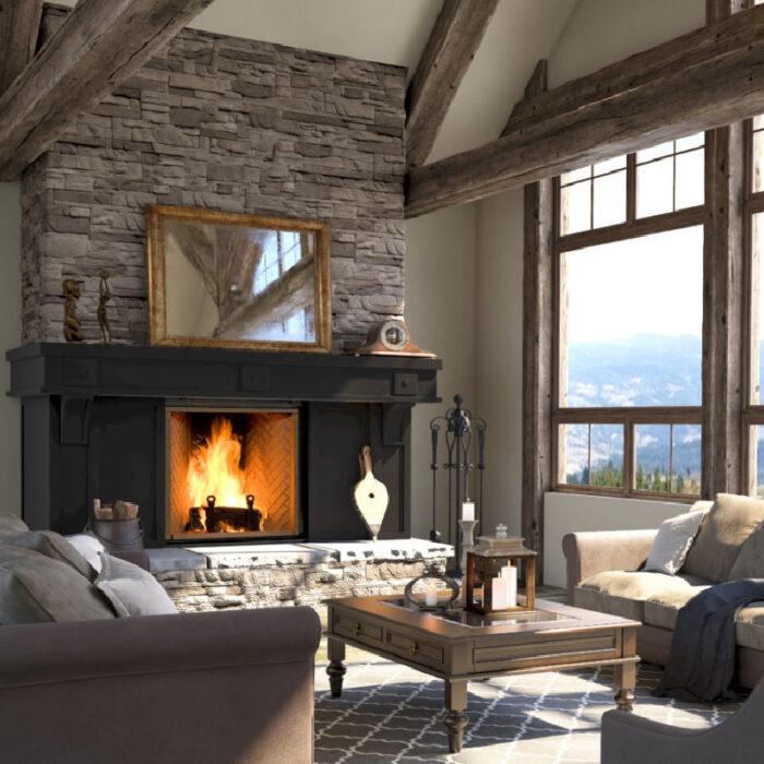 Renaissance Fireplaces – Rumford 1500 Wood Burning Fireplace 7