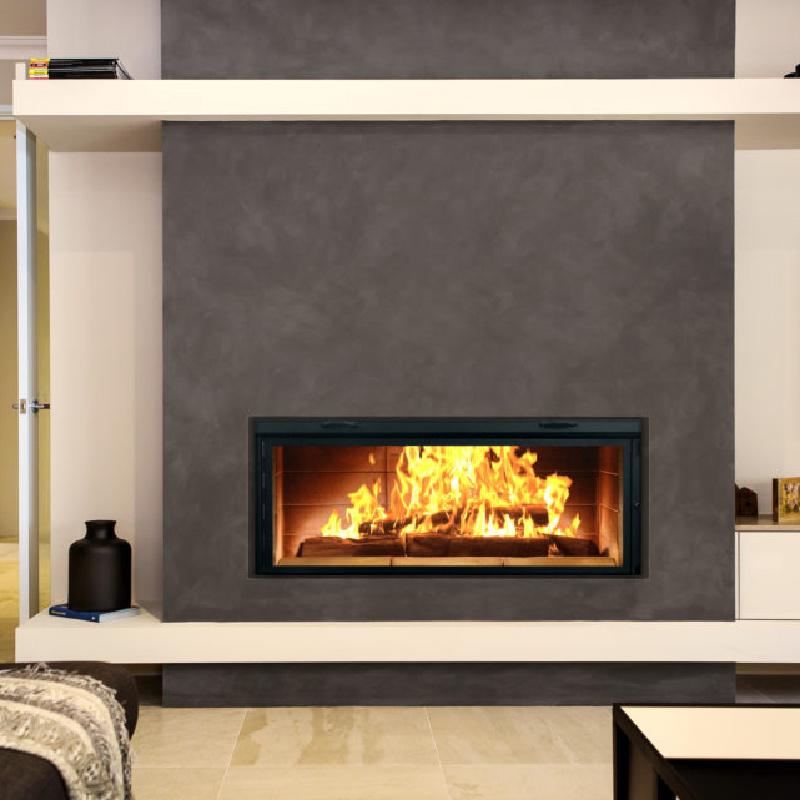 Renaissance Fireplaces Linear 50 Wood Burning Fireplace 2