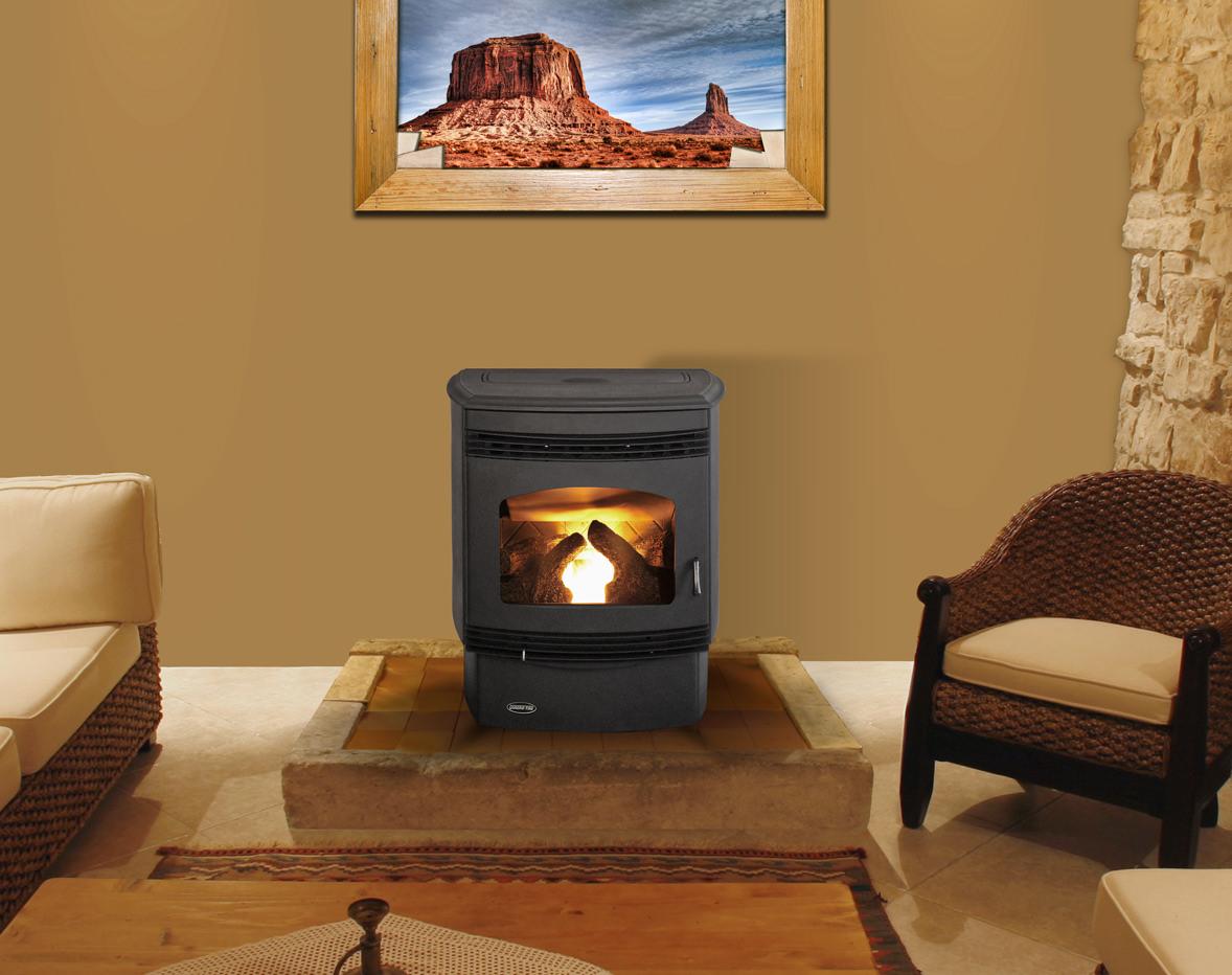 Quadra Fire Santa Fe Pellet Stove H2oasis